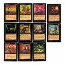 Magic The Gathering 14 Cards Mirage MTG Black 1996