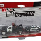 Maisto Elite Transport 1/64 Wrecker & Dodge Magnum R/T Police