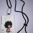 Mafalda Oggi Mordo Cell Phone Pouch White