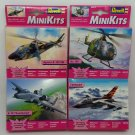 Revell Mini Kits Lot 4 Models Tornado BO-105 Thunderbolt A109