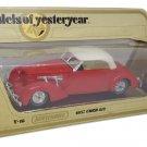 Matchbox Models Yesteryear 1/35 Cord 812 1937 Y-18 Diecast