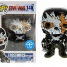 Funko POP Civil War Crossbones Battle Damage #140 Exclusive