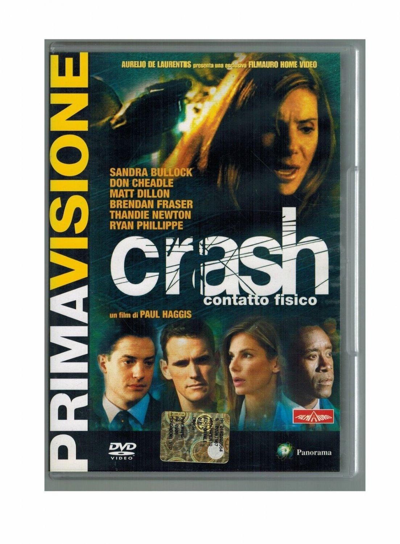 Crash Contatto Fisico DVD Matt Dillon  Sandra Bullock