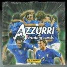 Azzurri Trading Cards 2004 Box 24 Packs Panini