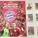 Bayern Munchen 2012-2013 Album + Complete Stickers Set Panini