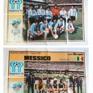 World Cup Argentina 1978 - 2 Posters Mexico Argentina Intrepido