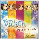 W.I.T.C.H. Like We Empty Album Panini Italy