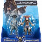 Pirates Caribbean 5 Jack Sparrow Ghost Crewman 2-figure Pack
