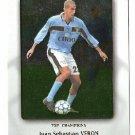 Juan Sebastian Veron Lazio Top Champions Card #328 Pianeta Calcio 2000