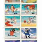 Tiny Toon Adventures Lot 10 Stickers Panini 1991