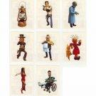 Bob & Bobette - Lot 8 Stickers Panini