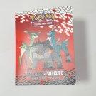 Pokemon Empty Mini Binder Cards Black White Emerging Powers