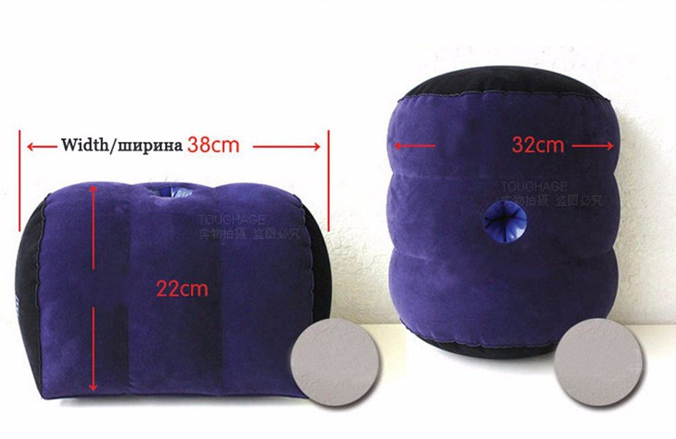 Toughage Inflatable Sex Pillow