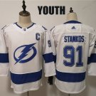 Youth Tampa Bay Lightning Steven Stamkos White Classic Stitched