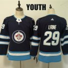 Youth Winnipeg Jets #29 Patrik Laine Navy Winter Classic Stitched
