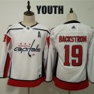 Youth Washington Capitals Nicklas Backstrom 19 Winter Classic Stitched