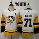 Youth Pittsburgh Penguins Evgeni Malkin White Winter Classic Stitched