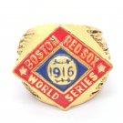 1916 Boston Red Sox MLB Warriors Championship ring