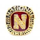 1983 Nebraska Cornhuskers Championship ring size 9-12