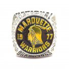 1977 Marquette Warriors NCAA Basketball Champs McGUIRE championship ring- 859