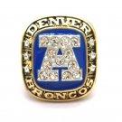 """1986 Denver Broncos AFC Championship NFL """"ELWAY 7"""" championship ring- 862"""