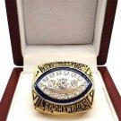 """1989 Denver Broncos AFC Championship NFL """"ELWAY 7"""" championship ring- 863"""