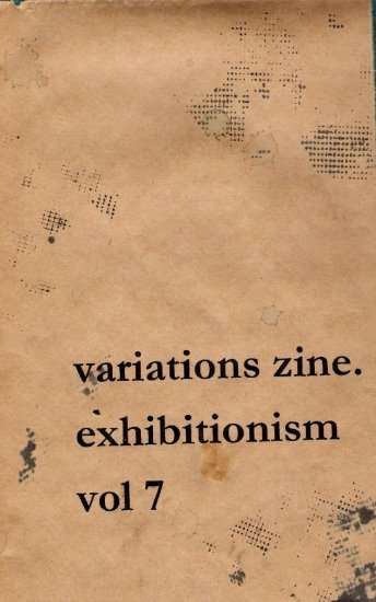 Vol 7: Exhibitionism