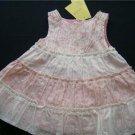 Gymboree GARDEN PARTY Tiered Dress Size 0/3m