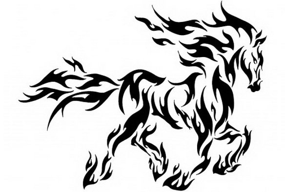 REBELLIOUS HORSE