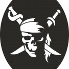 DXF CDR file for CNC VECTOR Laser CUT Plasma or Water Jet ROUTER PIRATE0002
