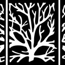 DXF CDR file for CNC VECTOR Laser CUT Plasma or Water Jet ROUTER CORAL0001