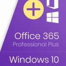 WINDOWS 10 PRO & MICROSOFT OFFICE 365