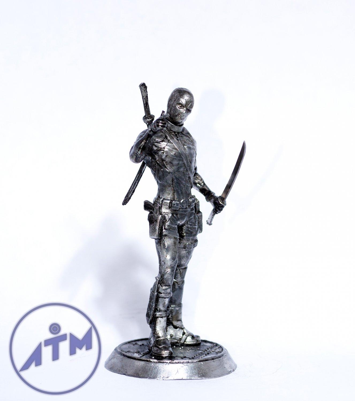 Deadpool metal figurine 75mm