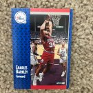 Auburn 76ers Suns NBA TNT star Charles Barkley Fleer '91 Basketball Card #151