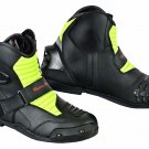 Motorbike Racing Boots Motorcycle Casual Touring Waterproof Leather Shoes