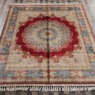 8'x10' Large Persian Silk Carpet for Living Room