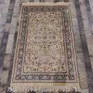 3'x5' Handmade Persian Rug Silk Oriental Floral Design Carpet for Home