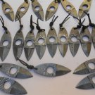 """4.0"""" Jon Miller Lot of 20 Hand Forged Damascus Steel Blank Blade Throwing Knives"""