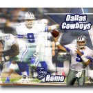 Tony Romo Photo , #9 Dallas Cowboys Custom NFL Canvas Print (NFL014)