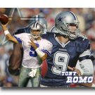Tony Romo Photo , #9 Dallas Cowboys Custom NFL Canvas Print (NFL015)