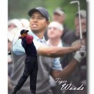 Tiger Woods Photo, Canvas PGA Golf Print (PGA015)