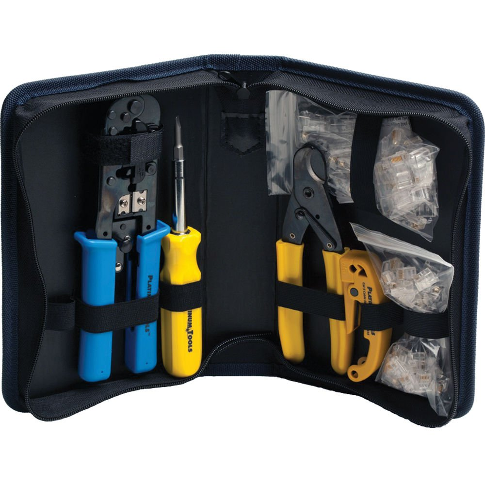 Platinum Tools 90109 All-In-One Modular Plug WorldWide