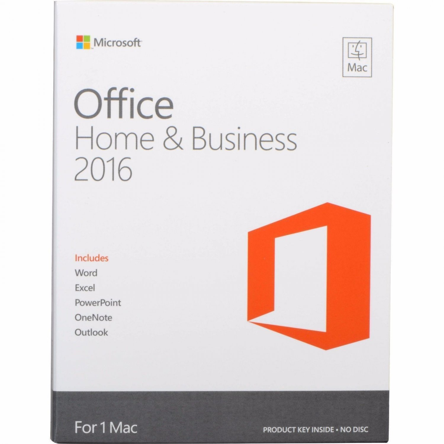 Microsoft Office 2016 Home and Business For MAC - 3 MAC's License