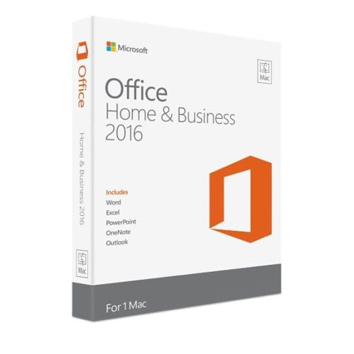 Microsoft Office 2016 Home and Business For MAC - 1 MAC's License