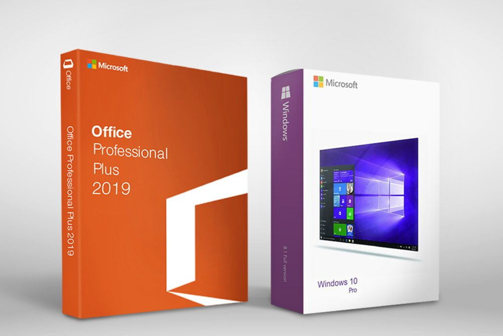 Microsoft Office 2019 Pro Plus + Windows 10 - Download Link + Key