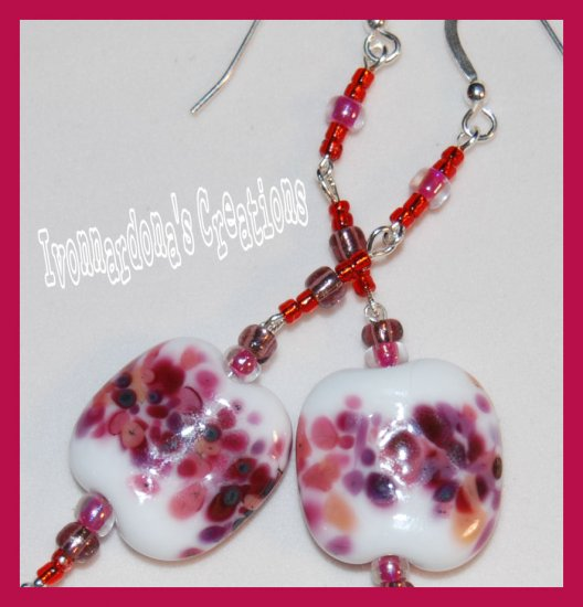 Raspberry Pie Earrings