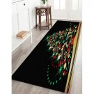 "24""  x 71""  Christmas Tree Pattern Anti-Skid Decorative Area Rug"