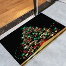 "16""  x 24"" Christmas Tree Pattern Anti-skid Decorative Door Mat"