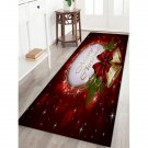 """16"""" x 47"""" Merry Christmas with Christmas Bells Printed Decorative Area Rug"""