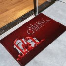 """24"""" x 35.5""""  Merry Christmas with Gifts Printed Decorative Door Rug"""